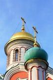 东正教的圆顶 免版税库存照片