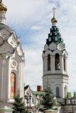 东正教的塔 免版税库存图片