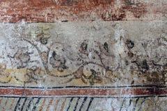 从东正教的壁画 免版税库存照片