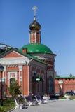 东正教的教堂 库存照片