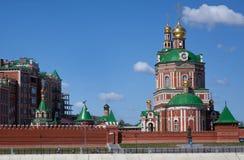 东正教的教堂 免版税库存图片