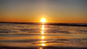 东海岸太阳上升 库存图片