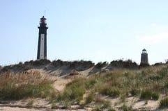 东海岸灯塔 库存照片