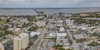 东海岸的墨尔本佛罗里达 库存图片