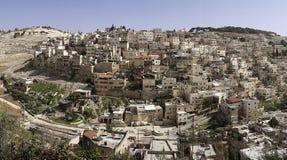 东耶路撒冷全景 图库摄影