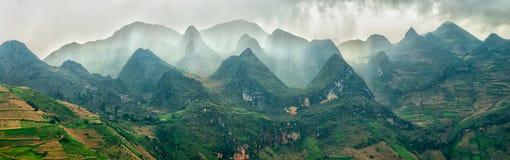 东范Plateau,河江市,越南 免版税库存照片
