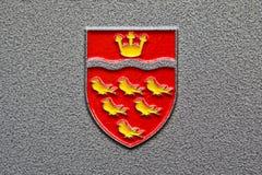 东萨塞克斯郡委员会徽章 免版税库存图片