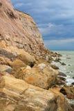 东萨塞克斯郡海岸,英国 免版税库存照片