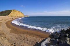 东西方海湾的海滩 免版税库存照片