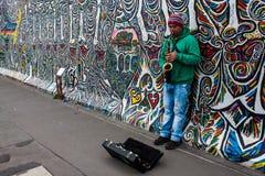 东边画廊在柏林 免版税库存图片