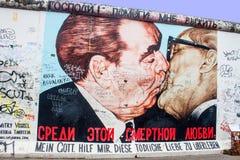 东边画廊在柏林 库存图片