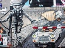 东边画廊在柏林 免版税库存照片