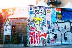 东边画廊柏林墙 免版税库存图片