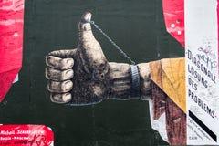 东边画廊:Michail Serebrjakow 免版税库存照片