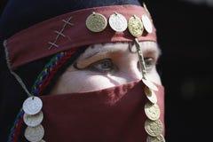 东部中间妇女 图库摄影