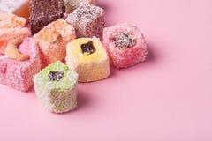 东部五颜六色的甜点 免版税图库摄影