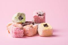 东部五颜六色的甜点 图库摄影