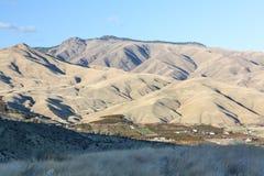 东部华盛顿山麓小丘和果树园 库存图片