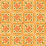 东部橙色模式 向量例证