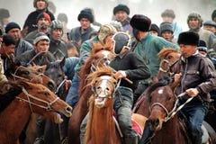 东部比赛国家ulak乌兹别克语 免版税库存照片