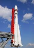 东部火箭 库存图片