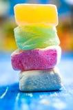 东部甜点,土耳其快乐糖 库存图片
