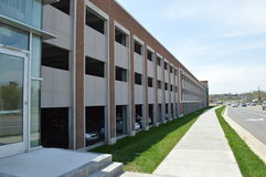 东部田纳西州立大学-新的停车库 图库摄影