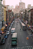东部百老汇纽约美国 图库摄影