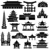 东部的建筑学 免版税图库摄影