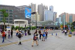 东部街市的广州,瓷 免版税图库摄影