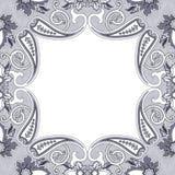 东部金银细丝工的装饰品背景 向量例证