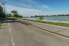 东部Gouin的大道 库存图片
