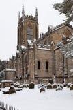 东部GRINSTEAD,西部SUSSEX/UK - 12月19日:圣斯威森的Churc 免版税图库摄影