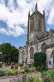东部GRINSTEAD,西部SUSSEX/UK - 6月17日:圣斯威森` s教会我 免版税图库摄影