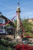 东部GRINSTEAD,西部SUSSEX/UK - 8月18日:战争Mem的看法 图库摄影