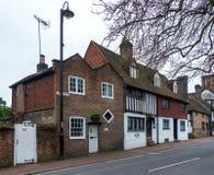 东部GRINSTEAD,西部SUSSEX/UK - 3月12日:Ye olde关起来和 免版税库存照片