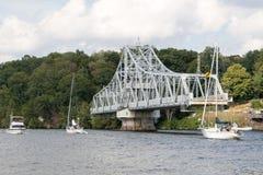 东部Haddam桥梁11 库存图片