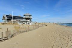 东部Matunuck国家海滩,南金斯敦, RI 免版税库存照片