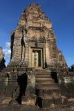 东部Mebon寺庙中央塔 免版税库存照片