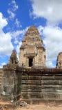 东部Mebon,吴哥,柬埔寨 免版税库存图片