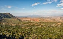 东非大裂谷,肯尼亚 免版税库存图片