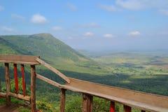 东非大裂谷 库存图片