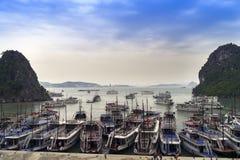 东Thien Cung洞码头 图库摄影