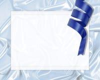 丝带丝绸 免版税库存照片