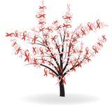 丝带结构树 免版税库存图片