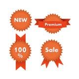 丝带设置了销售 免版税库存图片