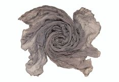 丝绸围巾 免版税图库摄影