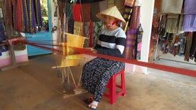 丝绸工厂在市大叻 影视素材