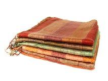 丝绸的围巾 库存照片