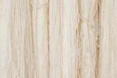 丝绸纤维的自然颜色 免版税库存图片